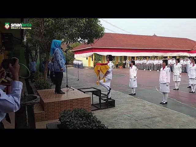 Upacara 17 Agustus 2019 SMAN 9 Tangerang