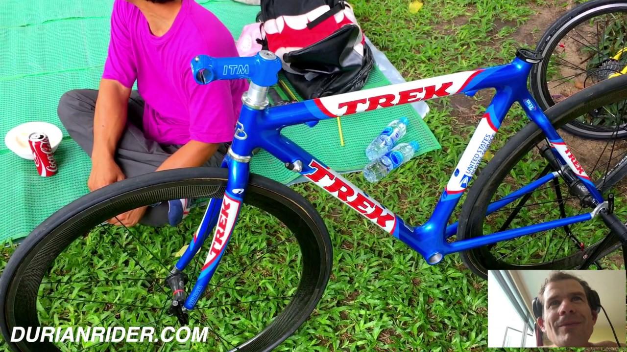1999 Lance Armstrong NOS Trek OCLV 120 USPS Team Replica Frameset I Found  In Bangkok Thailand