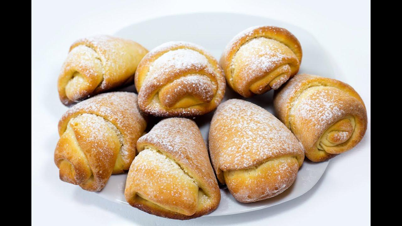 плюшки сахарные рецепт с фото