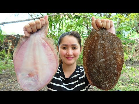 Cooking With Sros: Cooking Sole With Tamarind Sauce Recipe - Flatfish Cooking