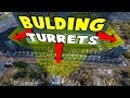 Building Turrets | 7 Days To Die - The Wait For Alpha 17 | Part 36