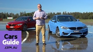 BMW M3 and M4 Competition 2016 review | first drive video