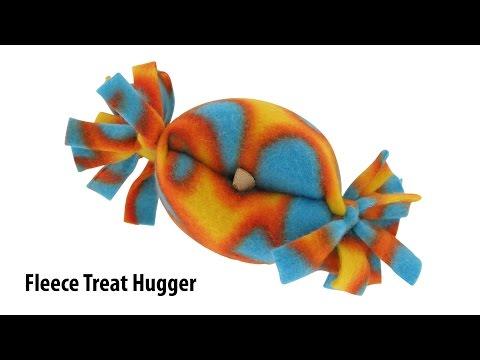 Treat Hugger Treat Dispensing Fleece Toys