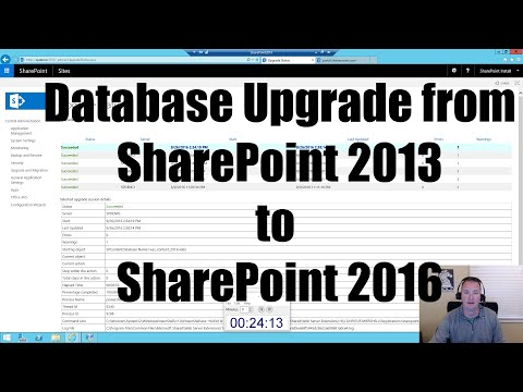 Content Database Upgrade From SharePoint 2013 To SharePoint 2016