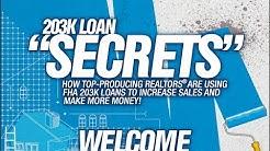 203k Loan Secrets