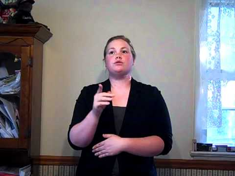 ASL for Interpreters Presentation #1