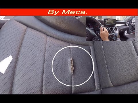 How to Repair 2015 Mercedes Benz Seat Cover – Seat Upholstery.