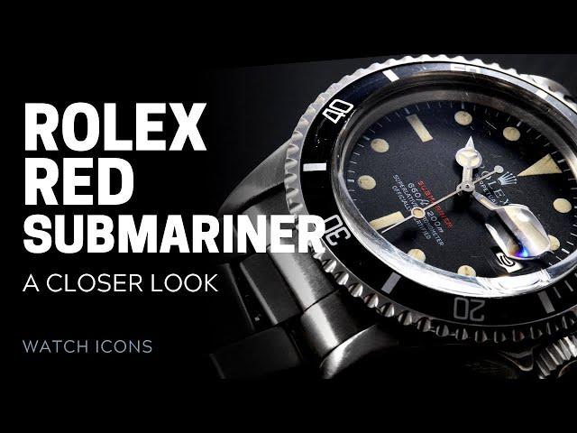 Rolex 'Red' Submariner: A Closer Look  | SwissWatchExpo [Rolex Watches]