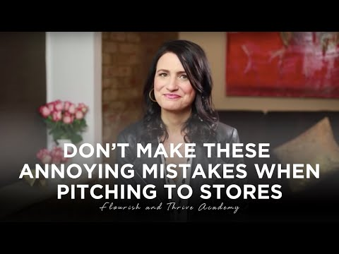 Don't Make These ANNOYING Mistakes When Pitching to Stores