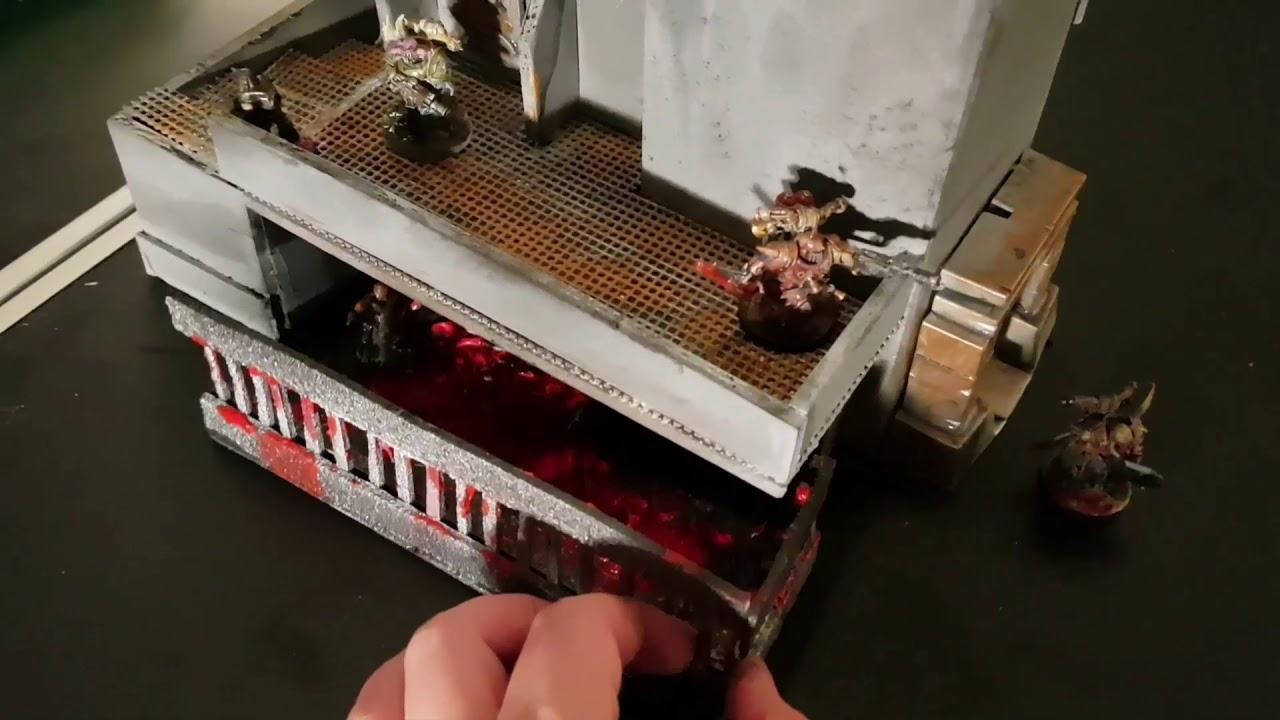 Building Home Made Necromunda and Shadow War terrain