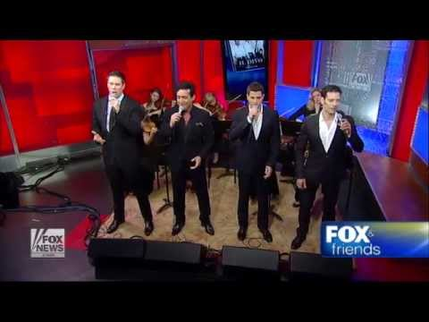 Il Divo on Fox&Friends - Time to say goodbye / June 4th 2012