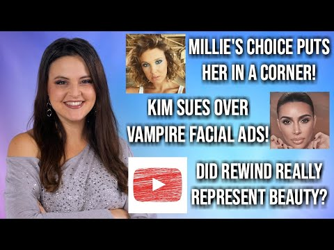 What's Up in Makeup NEWS! Millie Bobby Brown, Kim Kardashian, YouTubeRewind & MORE!