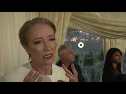 Beauty and the Beast Emma Thompson UK Premiere Interview
