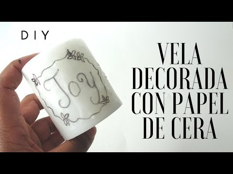 DIA 10   DIY VELAS DECORADAS CON PAPEL DE CERA  25 DÍAS DE MANUALIDADES CATÓLICAS  CRAFTMAS
