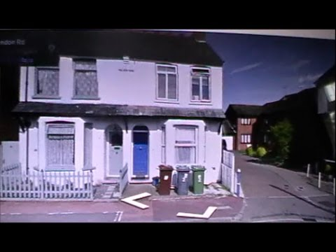 Stan Butler's House On Street View On The Buses Malden Road Herts