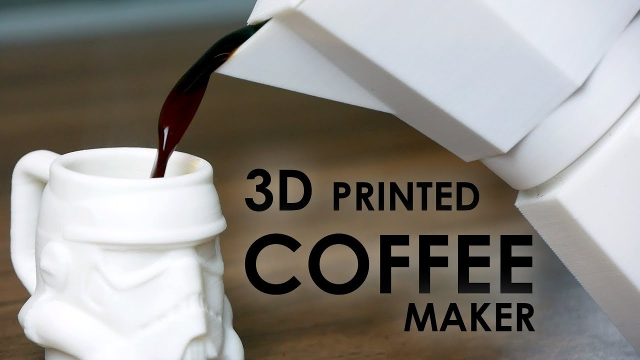 3d printed moka pot brewing real coffee with formfutura volcano