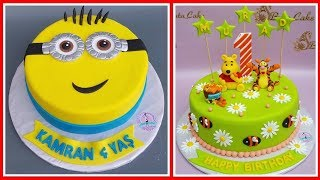 🔵 Uşaqlar üçün tortlar | uşaqlar üçün ad günü tortları | bir yaş tortları | ad günün mübarək