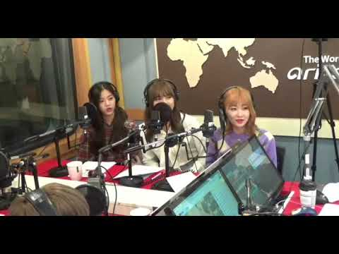 [20180910] GWSN (공원소녀) 1st radio appearance: Arirang Radio's Sound K w/ DJ Ashley of Ladies' Code