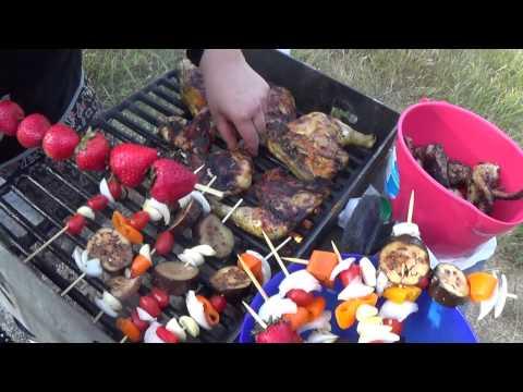 BBQ'IN Pt2-Jamaican Jerk Wings, Mushroom Asiago Flatbread, Chicken, Burgers, Veggie Kabobs N More!