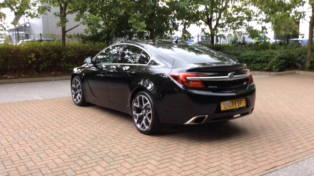 Vauxhall Insignia Vxr Supersport Black 2017 - Youtube-8147