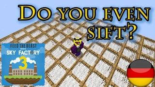 Tipps und Tricks für Sieves von Ex Nihilo [German/Deutsch] - FTB Sky Factory 3 - Minecraft Tutorial