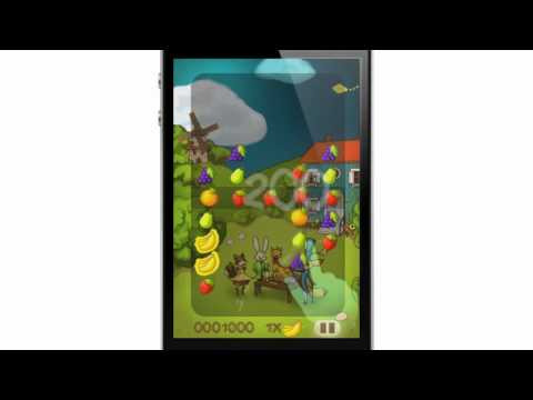 Fruit Frenzy Trailer: An addictive action puzzle game for iOS and Android