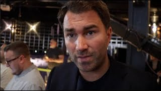 EDDIE HEARN REVEALS CHILLING WORDS DAVID HAYE TOLD TONY BELLEW DURING HEATED FACE OFF (FULL VID)