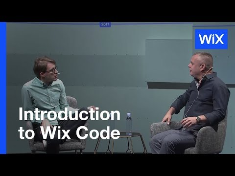 Wix Code | Creation Without Limits | Live Beta Launch