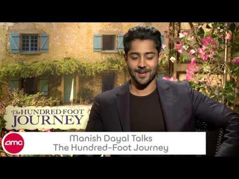 Manish Dayal Talks THE HUNDREDFOOT JOURNEY With AMC