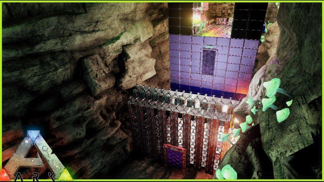 The Center, ark survival evolved the center caves