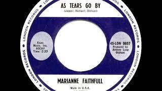 1964 HITS ARCHIVE: As Tears Go By - Marianne Faithfull