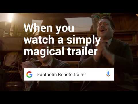 Google Search: Know the Fantastic Beasts trailer - When you're looking for a fantastic trailer, find it with Google Search.