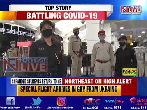 Stranded Northeast students arrive at Guwahati airport from Ukraine, returnees quarantined