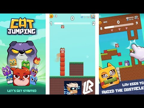 Cat Jumping - Kitten Run, Square Cat Run (Early Access) Gameplay By Rycalz