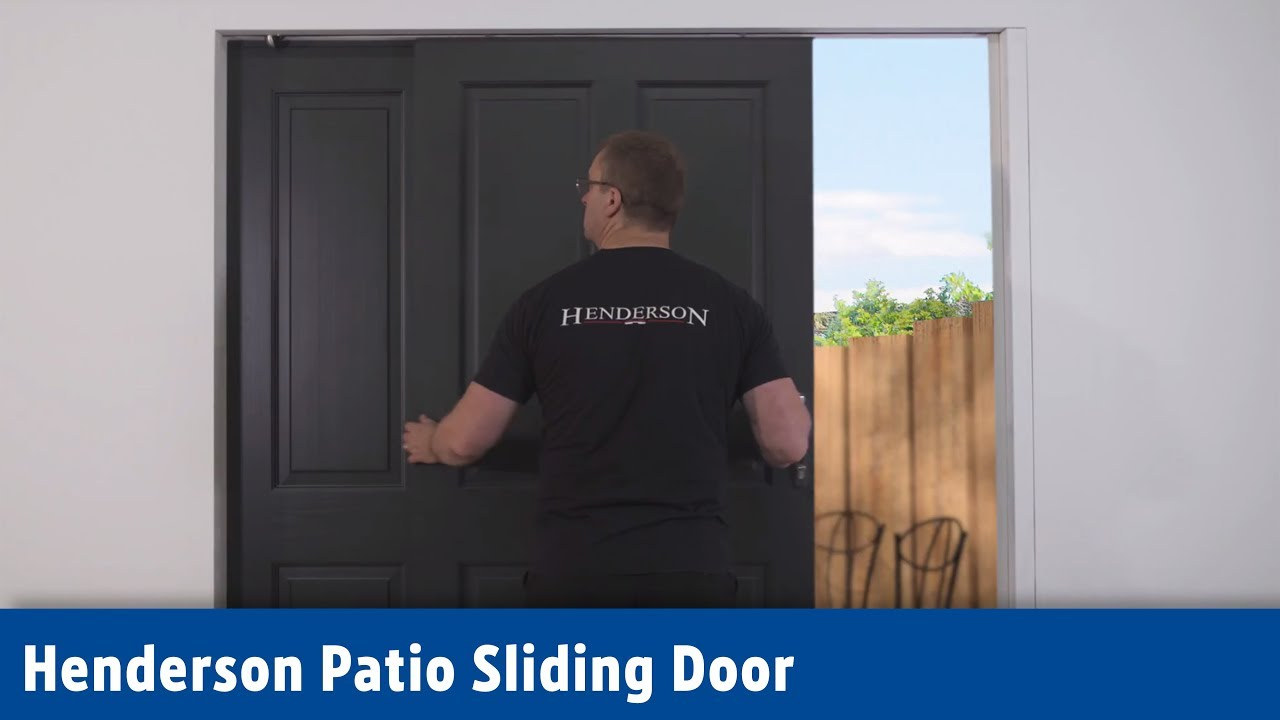 Henderson Patio Sliding Door Screwfix Youtube