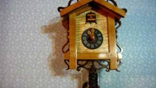 New Cuckoo Clock With Vintage Movement