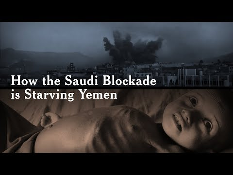 How the Saudi Blockade is Starving Yemen
