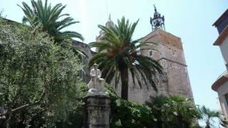 Spain Sitges  Tarragona Beach Old Town Roman Circus Travel
