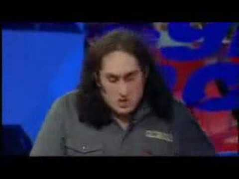 Ross Noble  Ray Martin Fights a pig