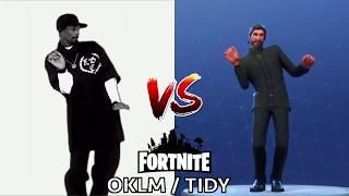 [DANCE] OKLM / TIDY | IN REAL LIFE ► FORTNITE