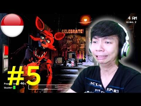 Dendam Kusumat Ama Foxy - Five Nights At Freddy's #5 - PC Android IOS Steam Gameplay - 동영상