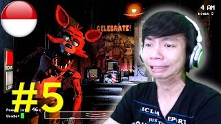 Dendam Kusumat Ama Foxy - Five Nights At Freddy's #5 - PC Android IOS Steam Gameplay