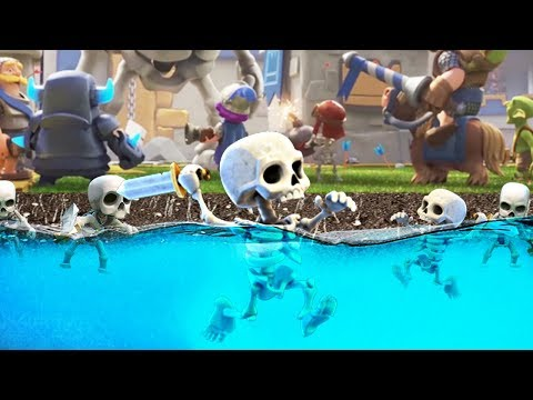UPDATE - Swimming Skeletons? Clash Royale CLAN WARS + MORE!