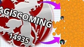 Agar.io SOLO BOSS VS NOOB TEAM Funny Compilation Agar.io Mobile Gameplay