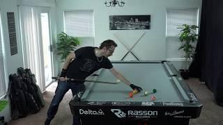 LIVE practice & comments-- Venom Trickshots pool Vlog#1