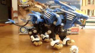 Tomy ZOIDS Blade Liger Review