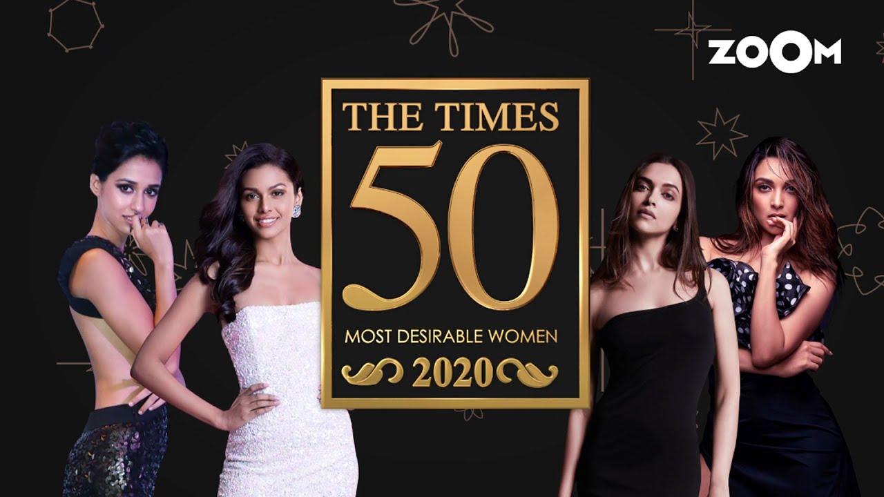 The Times Most Desirable Women 2020 | Disha Patani, Katrina, Nora or Rhea? | Top 50