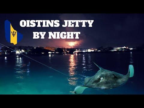 OISTINS JETTY | BY NIGHT | BARBADOS