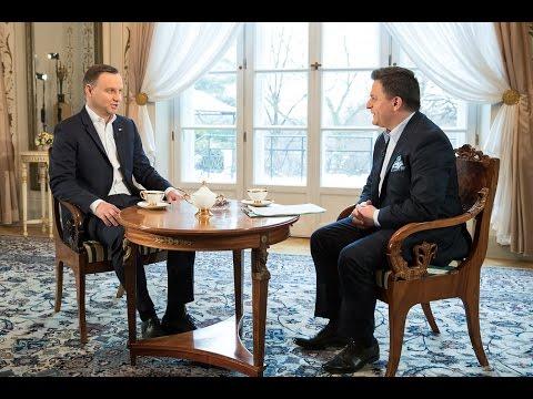 """Wywiad Prezydenta RP dla programu """"Kawa na ławę"""" TVN24"""