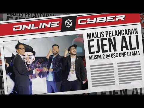 """ONLINE CYBER - Episode 7 """"Launch of Ejen Ali - Season 2 @ GSC One Utama"""""""
